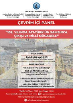 102. Yılında Atatürk'ün Samsun'a Çıkışı ve Milli Mücadele